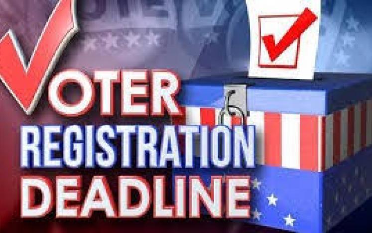 Voter Reg Deadline