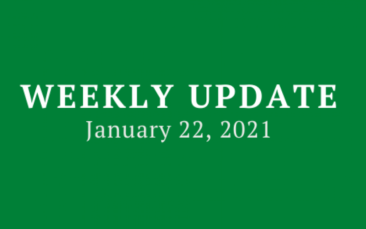 Weekly Update 1/22/21